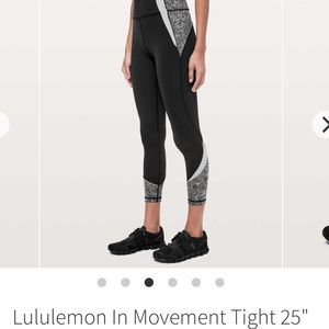 Lululemon In Movement Tight